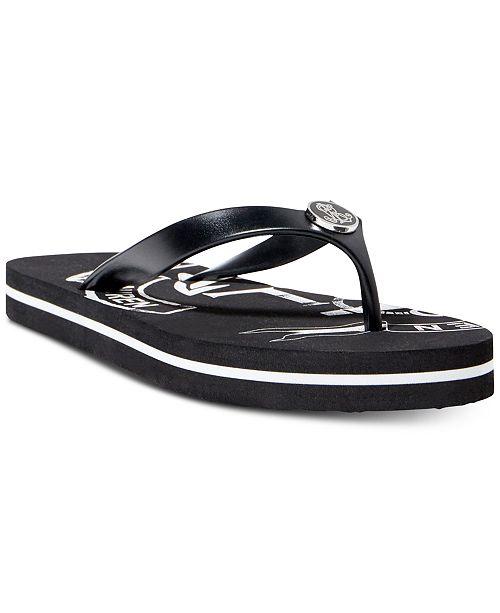 2ccd215725df Lauren Ralph Lauren Elissa II Flip Flops   Reviews - Sandals   Flip ...