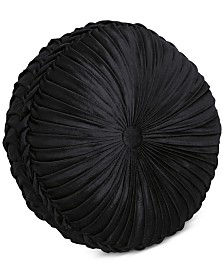J Queen New York Chancellor Tufted Round Decorative Pillow