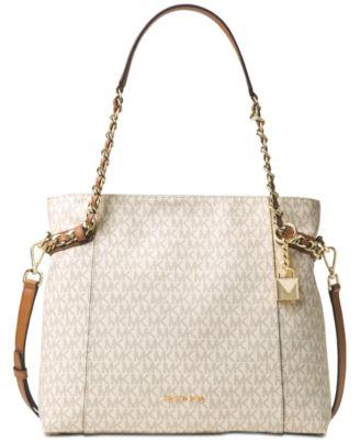 michael kors signature remy shoulder tote handbags accessories rh macys com