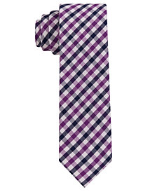 Tommy Hilfiger Boys' Preppy Gingham Plaid Tie