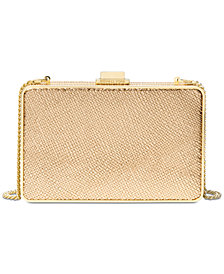 MICHAEL Michael Kors Pearlized Medium Box Clutch
