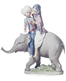 Lladro Collectible Figurine, Hindu Children