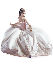 Lladro Collectible Figurine, At the Ball