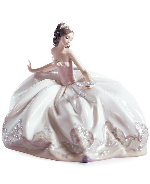 Lladro Lladro Collectible Figurine, At the Ball