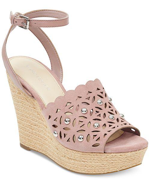 Marc Fisher Hata Espadrille Wedge Sandals