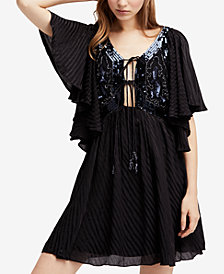 Free People Moonglow Sequin-Embellished Mini Dress