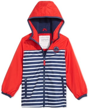 Carter's Striped Hooded...