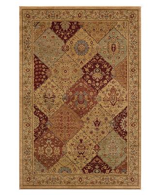 momeni area rug belmont be 01 burgundy 5 3 quot x 7 6 quot rugs macy s