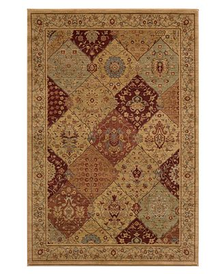 CLOSEOUT! Momeni Area Rug, Belmont BE-01 Burgundy 7' 10