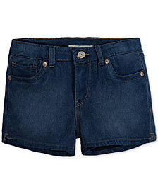 Levi's® Shorty Shorts, Little Girls