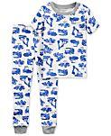 Carter's 2-Pc. Truck-Print Cotton Pajamas, Little Boys & Big Boys