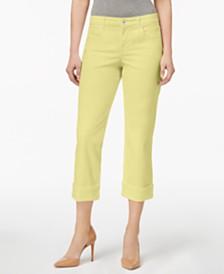 f6a3d9c507b3e Style   Co Curvy Cuffed Capri Jeans