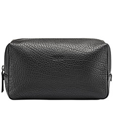Hugo Boss Men's Victorian Leather Washbag