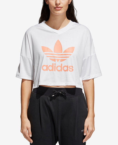 adidas Originals Relaxed Cropped T-Shirt