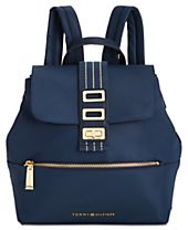 Tommy Hilfiger Triple-Compartment Solid Small Backpack