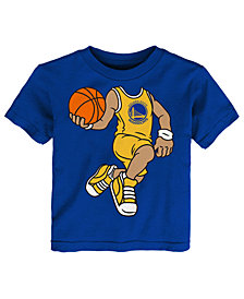 Outerstuff Golden State Warriors Dunkin T-Shirt, Toddler Boys (2T-4T)