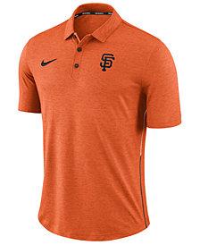 Nike Men's San Francisco Giants Dri-FIT Breathe Touch Polo