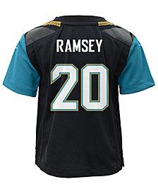 Nike Jalen Ramsey Jacksonville Jaguars Game Jersey, Little Boys (4-7)