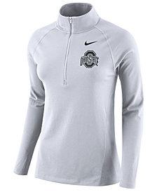 Nike Women's Ohio State Buckeyes Tailgate Half-Zip Pullover