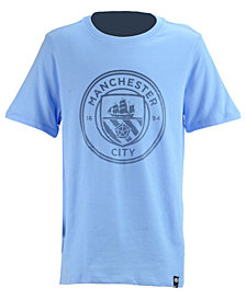 Nike Manchester City Club Team Crest T-Shirt, Big Boys (8-20)