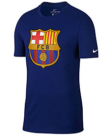 Nike Men's FC Barcelona Club Team Evergreen Crest T-Shirt