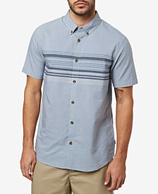 O'Neill Men's Serf Yarn-Dyed Engineered-Stripe Shirt