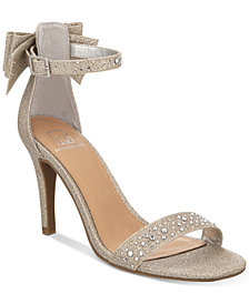 Material Girl Beverly Bow Dress Sandals, Created for Macy's
