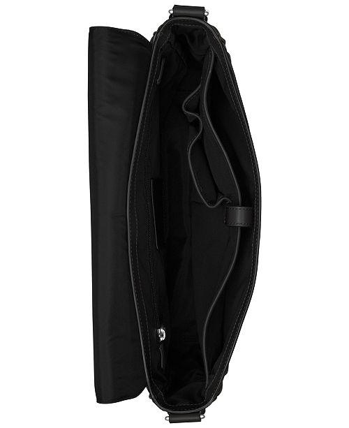 3f9e6c97174f Michael Kors Men s Odin Resina Large Messenger Bag - Bags ...