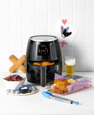 Crux 2.6 Qt. Touchscreen Air Convection Fryer 14635, Created for Macy's