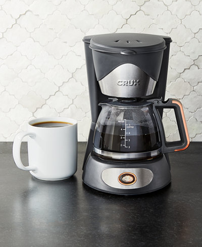 Crux 14634 5 Cup Coffee Maker Created For Macy S