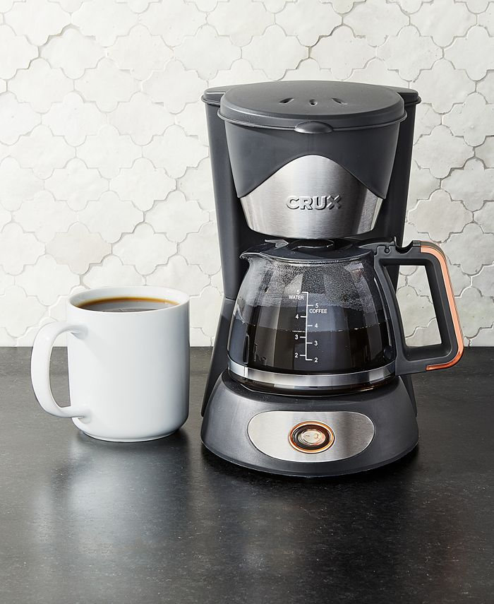 Crux - 14634 5-Cup Coffee Maker