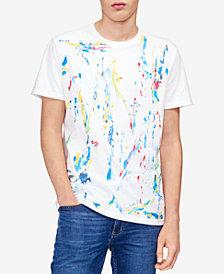 Calvin Klein Jeans Men's Splatter Print T-Shirt