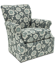 Corilee Fabric Swivel Chair