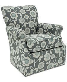 Corilee Fabric Swivel Chair