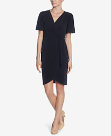 Catherine Catherine Malandrino Nyla Faux-Wrap Dress
