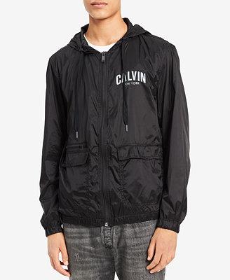 Men's Nylon Windbreaker by Calvin Klein Jeans