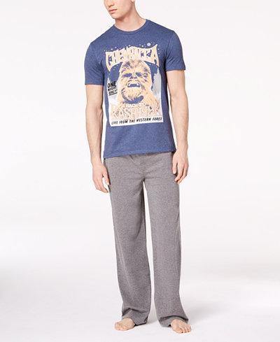 Bioworld Men's Chewbacca Pajama Set