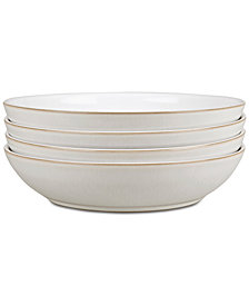 Denby Natural Canvas 4-Pc. Pasta Bowl Set
