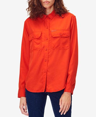 Calvin Klein Jeans Button-Front Shirt