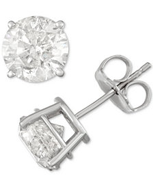 Diamond Stud Earrings (2-1/2 ct. t.w.) in 14k White Gold