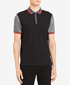 Calvin Klein Men's Tri-Color Polo