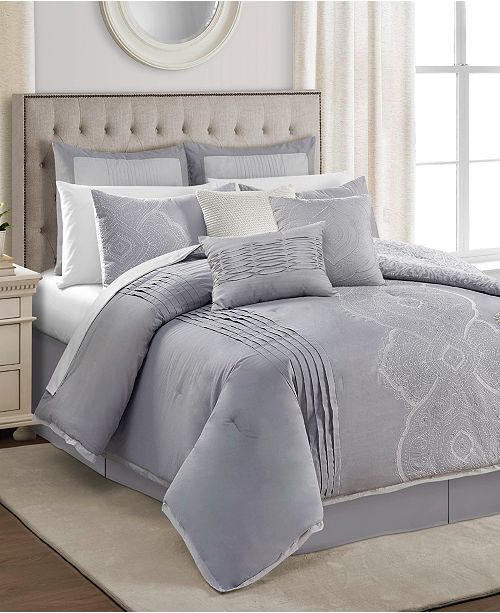 Sunham CLOSEOUT! Brianna 10-Pc. Comforter Sets