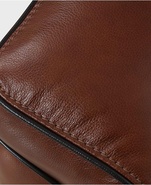 Stupendous Myars 47 Leather Chair Machost Co Dining Chair Design Ideas Machostcouk