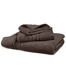 CLOSEOUT! Hotel Collection Quick-Dry Supima® Cotton Washcloth, Created for Macy's