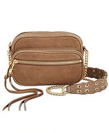 DKNY Shanna Suede Camera Bag, Created for Macy's