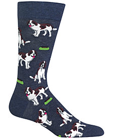Hot Sox Men's Dog Socks