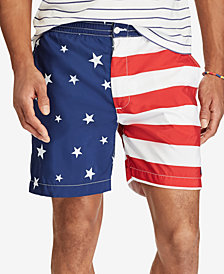 "Polo Ralph Lauren Men's Big & Tall 6-1/2"" Prepster Swim Trunks"