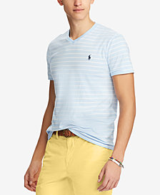 Polo Ralph Lauren Men's Big & Tall Classic Fit Striped T-Shirt