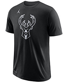 Jordan Men's Giannis Antetokounmpo Milwaukee Bucks All Star Player T-Shirt