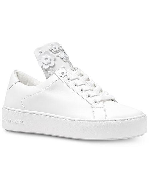 2bb5d696abad Michael Kors Mindy Lace-Up Sneakers   Reviews - Athletic Shoes ...